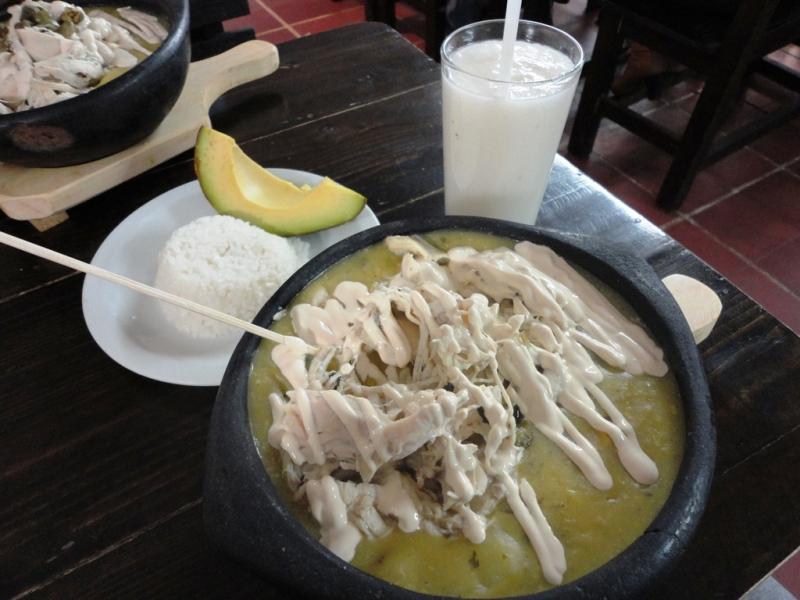ajiaco bogota food