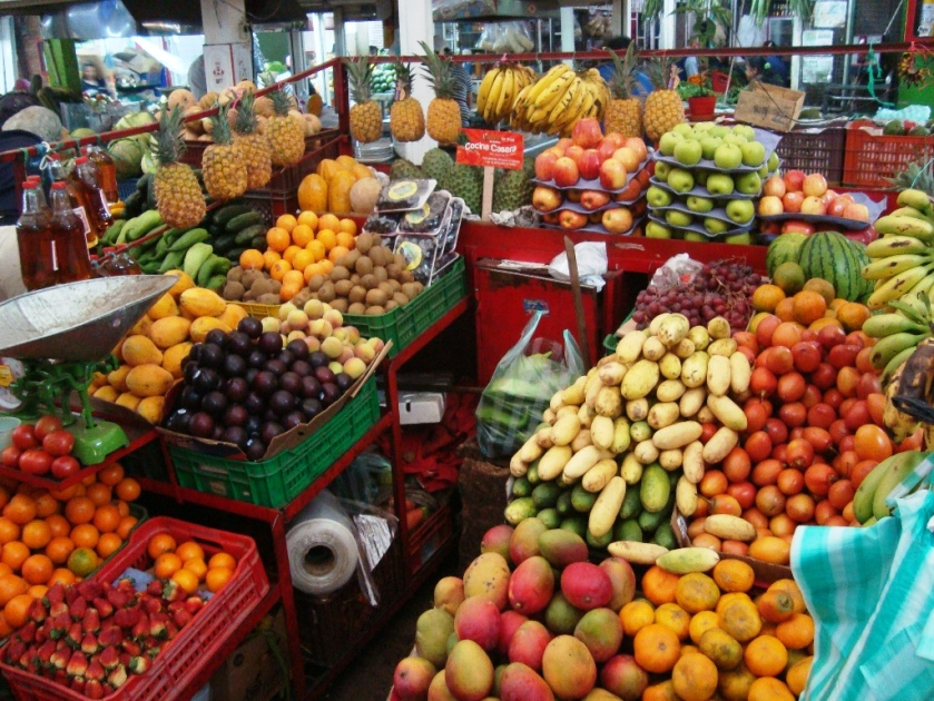paloquemao bogota colombia fruit