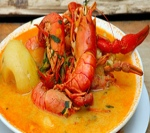 chupe camarones shrimp soup