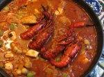 chupe camarones arequipa peru food shrimp