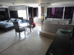 medellin luxury apartment castropol master bedroom jacuzzi