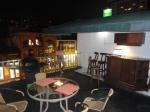 medellin luxury apartment poblado patio night