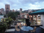 medellin luxury apartment poblado patio view 4