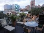medellin luxury apartment poblado patio view 5