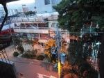 medellin luxury apartment poblado patio view 9