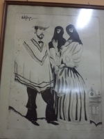 Painting from Bar Queirola.