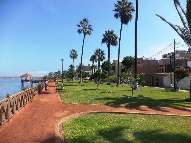 Malecon Wiese in La Punta de Callao