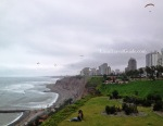 Paragliding in Lima
