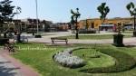 Plaza Bolivar of Pueblo Libre