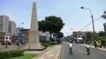 Lince Lima Peru obelisk