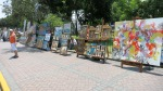 Parque Kennedy paintings