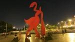 alameda chabuca granda lima peru statue
