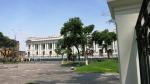 congreso cercado lima peru plaza bolivar