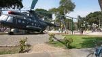 cuartel pueblo libre lima peru helicopter 2