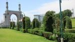 parque amistad surco lima peru arco morisco jardin