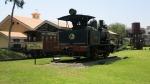 parque amistad surco lima peru train steam