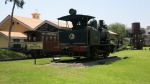 parque amistad surco lima peru train steam