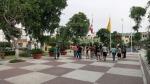 parque bomberos lince lima peru salsa dancing