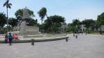 parque exposicion lima peru statue 4