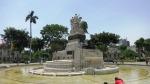 parque exposicion lima peru statue 5