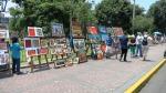 parque kennedy miraflores lima peru paintings 2