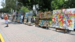 parque kennedy miraflores lima peru paintings