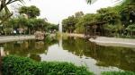 parque mariscal castilla lince lima peru pond