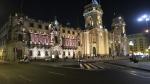 plaza armas mayor lima peru catedral palacio arzobispo