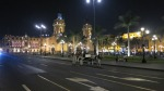 plaza armas mayor lima peru horse carriage