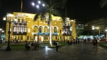 plaza armas mayor lima peru night 2