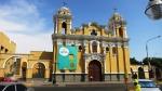 plaza armas surco lima peru santiago apostol