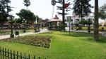 plaza armas surco lima peru