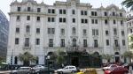 plaza san martin cercado lima hotel bolivar