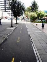 10 carrera 13 bike path bogota colombia