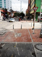 13 carrera 13 bike path bogota colombia