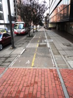 2 carrera 13 bike path bogota colombia