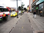 30 carrera 13 bike path bogota colombia