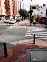 5 carrera 13 bike path bogota colombia