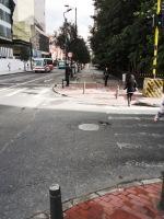 7 carrera 13 bike path bogota colombia