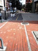 9 carrera 13 bike path bogota colombia