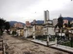 central cemetery bogota colombia skyline