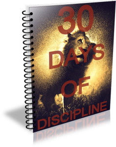 30 days of discipline victor pride