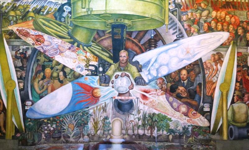 mexico-city-palacio-bellas-artes-diego-rivera-man-controller-universe-mural