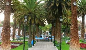 yanahuara-plaza arequipa peru